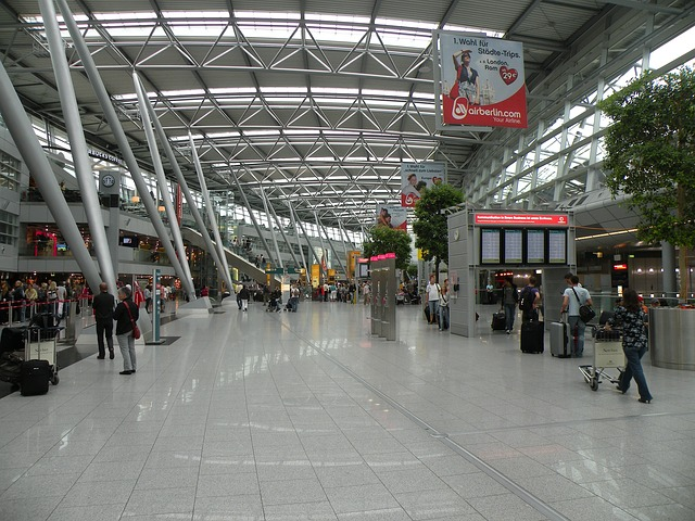 Internationaler Flughafen