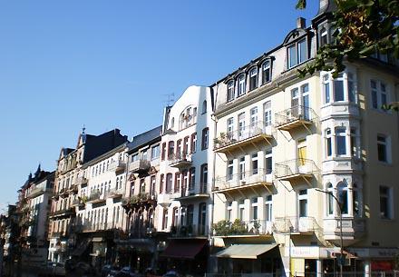 Kurstraße in Bad Nauheim
