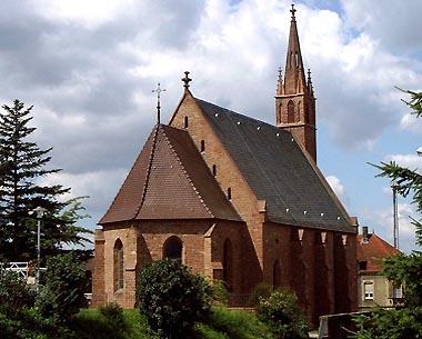 Rochuskapelle im Ortsteil Bad Mingolsheim