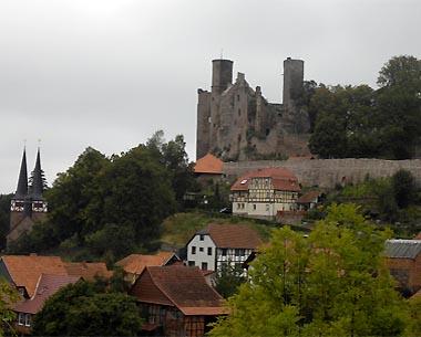 Burg Hanstein bei Bornhagen