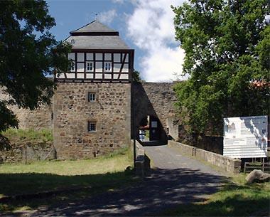 Burgtor von Burg Herzberg