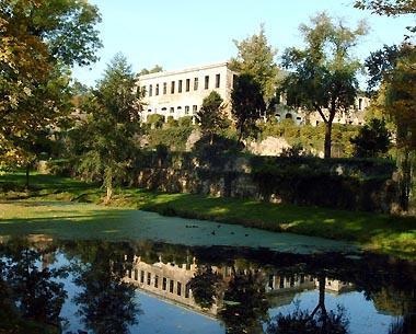 Schloss Dahlen mit Stadtpark