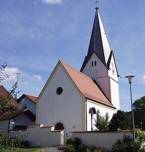 Kirche im Stadteil Ottmaring