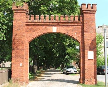 Ehemaliger Eingang zum Rittergut