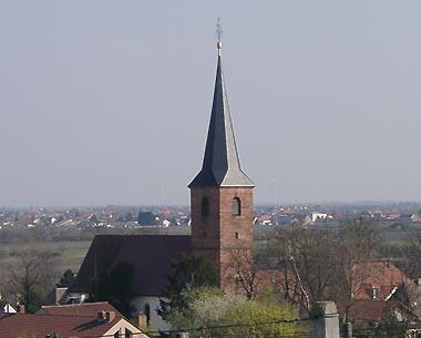 Pfarrkirche in Forst
