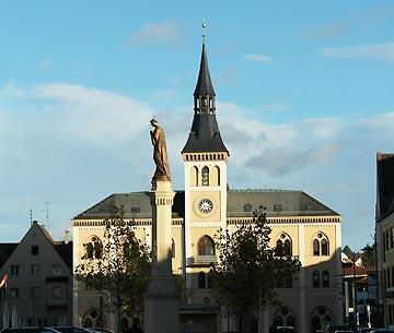 Rathaus in Pfaffenhofen