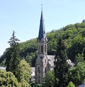 Katholische Pfarrkirche Herz Jesu in Schlangenbad