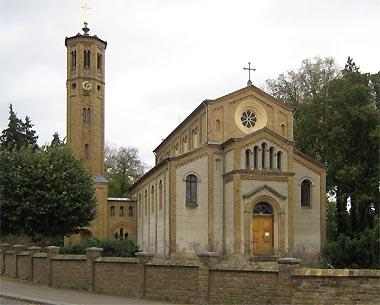 Kirche im Ortsteil Caputh