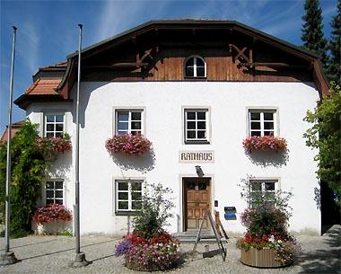 Rathaus der Gemeinde Seefeld