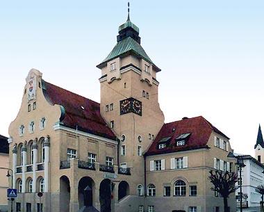 Rathaus in Simbach am Inn