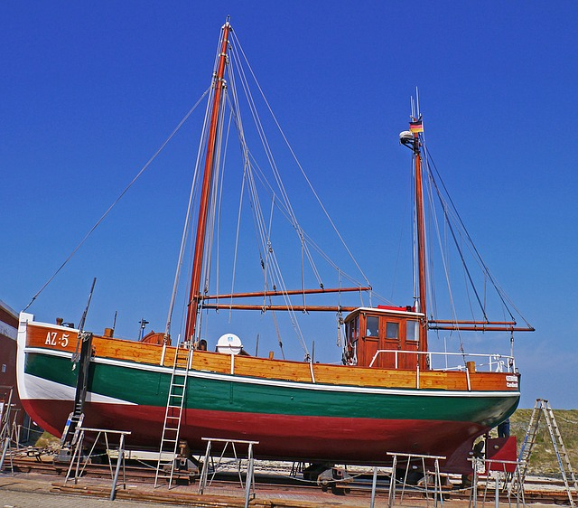 Trockendock in Neuharlingersiel