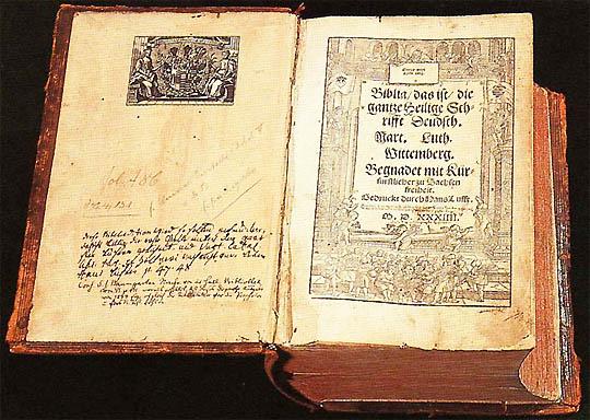 Luthers Bibelübersetzung