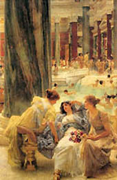 Frauen in römischer Therme, Lawrence Alma-Tadema, 1899
