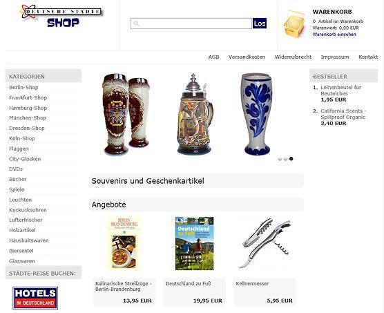 Deutsche Staedte Shop