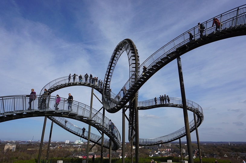 Tiger and Turtle – Magic Mountain in Duisburg-Angerhausen