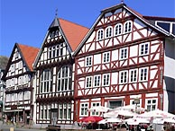 Altstadt in Bad Wildungen
